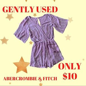 Abercrombie & Fitch Sequenced Romper